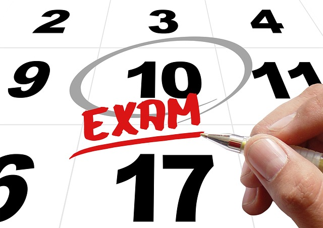 テスト対策の勉強6月16日(火)