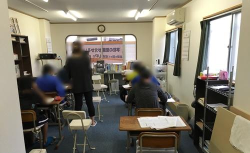 10月定期テスト対策授業風景